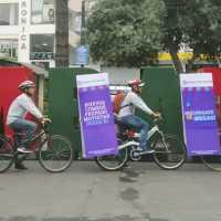Publicidad en bicicletas